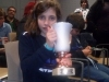 Julia Miniño Chaves. Campiona Provincial benxamín feminino